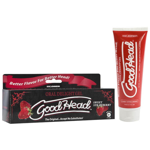 Goodhead Oral Delight Gel Strawberry