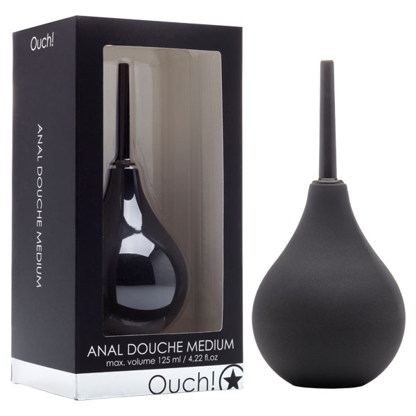 What does an anal douche do